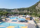 Camping Labastide-de-Virac - La Plage Fleurie-4