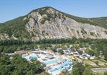 Camping Labastide-de-Virac - La Plage Fleurie-1