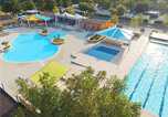 Camping avec Quartiers VIP / Premium Ruoms - La Plage Fleurie-2