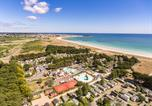 Camping  Acceptant les animaux Fouesnant - La Plage-1