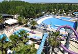 Camping avec Ambiance club Vendres - Les Mimosas-3