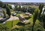 Camping avec Site nature Bouafles - International de Maisons-Laffitte-2