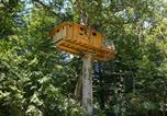 Camping avec Piscine couverte / chauffée Loches - Parc de Fierbois-2