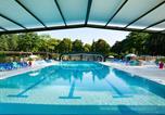 Camping avec Parc aquatique / toboggans Maine-et-Loire - Parc de Montsabert-3