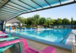 Camping avec Parc aquatique / toboggans Allonnes - Parc de Montsabert-4