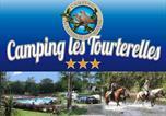 Camping avec Piscine Arnac-Pompadour - Camping Les Tourterelles-1