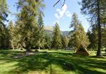 Camping avec Piscine couverte / chauffée Italie - Fiemme Village-2