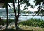 Camping avec Parc aquatique / toboggans Lathuile - Camping Ile de la Comtesse-1