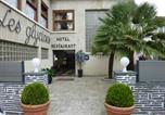 Hôtel Fuilla - Hotel les Glycines-1