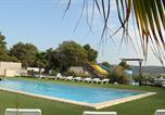 Camping avec Parc aquatique / toboggans Nages - Camping Le Pinada-1
