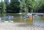 Camping en Bord de rivière Aquitaine - Camping Le Clupeau-3