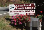Location vacances Urdax - Casa Rural Jaimenea-3