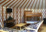 Villages vacances Redmond - Bend-Sunriver Camping Resort 24 ft. Yurt 9-4