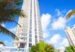 Hôtel Sunny Isles Beach - Partial Sea View Private Apartment at Marenas-4