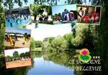 Camping en Bord de lac Landevieille - Domaine De Bellevue-1