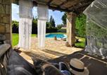 Location vacances Λευκιμμαιοι - Il Portico Verde private Villa with pool in Corfu-2