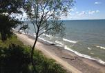 Camping avec Accès direct plage États-Unis - Brennan Beach Lakeview Park Model 3-3