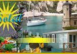 Camping avec WIFI La Ciotat - Camping du Soleil-1