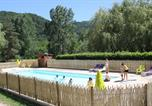 Camping avec Site nature Devesset - Camping Les Berges Du Doux-1