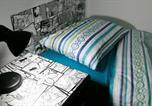 Hôtel Campo Largo - Hostel Creative Basement-1