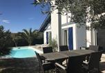 Location vacances Bassussarry - House Villa avec piscine : vacances au calme entre biarritz et bidart-4