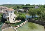 Location vacances Langlade - Four-Bedroom Holiday home Clarensac 0 08-2