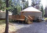 Villages vacances Redmond - Bend-Sunriver Camping Resort 24 ft. Yurt 9-2