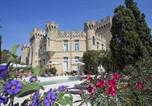 Hôtel 4 étoiles Châteauneuf-du-Rhône - Hostellerie du Château des Fines Roches-1