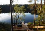 Location vacances Salla - Hakojärvi Log Cottage-3