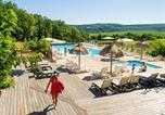 Camping avec Piscine Saint-Cybranet - Camping Sites et Paysages Les Pastourels-1