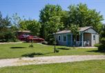 Camping avec Quartiers VIP / Premium Lot - Camping Domaine De La Faurie-4