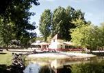 Camping avec Site nature Brossac - Camping Etangs de Plessac-1