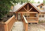 Location vacances Branson West - Deer Haven Lodge Cabin-1