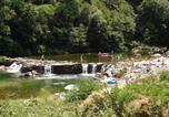 Camping avec Site nature Chastanier - Camping Le Ventadour-1