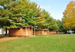 Villages vacances Elkhart Lake - Plymouth Rock Camping Resort Two-Bedroom Cabin 3-1