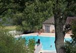Camping Montpeyroux - Camping Les Tours