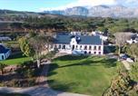 Hôtel Somerset West - Hoogeind Manor-1