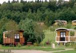 Camping avec Piscine Meymac - Camping Les Roulottes de Monedières-1
