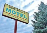 Hôtel Cornwall - Blue Spruce Motel-3