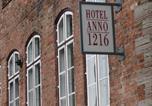 Hôtel Ratzebourg - Hotel Anno 1216-2