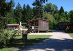 Camping avec Hébergements insolites Pont-de-Poitte - Camping La Pourvoirie des Ellandes-4