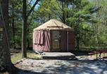 Villages vacances Sturgeon Bay - Tranquil Timbers Yurt 3-1