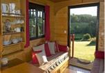Location vacances Saint-Dier-d'Auvergne - Les Roulottes et Cabanes du Livradois-3