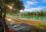 Camping avec Site nature Châtillon-en-Diois - Vivacamp Lac Bleu-2