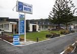 Hôtel Kaikoura - Norfolk Pine Beachfront Motel-1