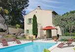 Location vacances Clansayes - Holiday home Clansayes 37-2