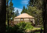 Villages vacances Redmond - Bend-Sunriver Camping Resort 24 ft. Yurt 9-1