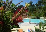 Camping avec Parc aquatique / toboggans Six-Fours-les-Plages - Camping de Ceyreste (Flower)-2
