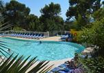 Camping avec Piscine couverte / chauffée Marseille - Camping de Ceyreste (Flower)-3