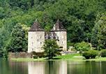 Camping avec Piscine couverte / chauffée Corrèze - Château du Gibanel-1